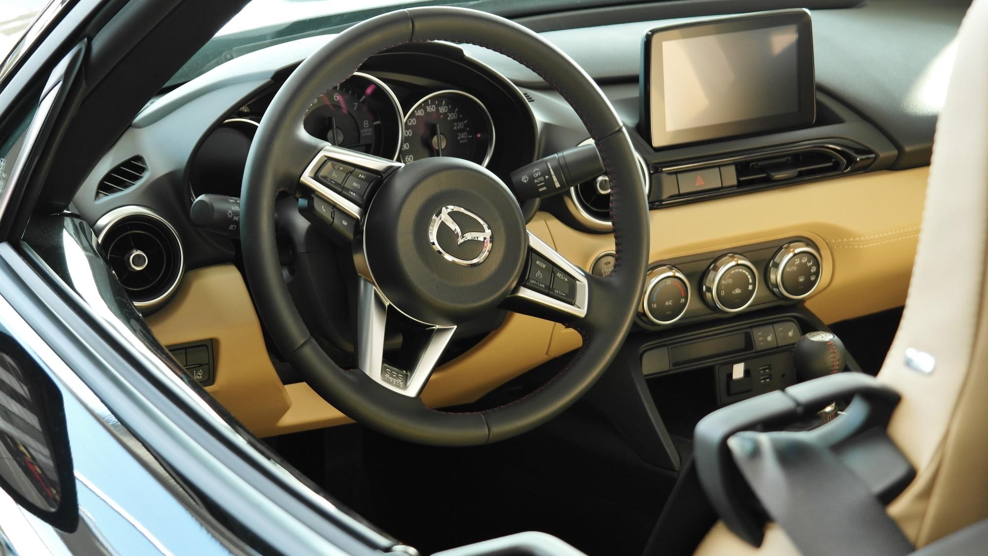 mazda car interior