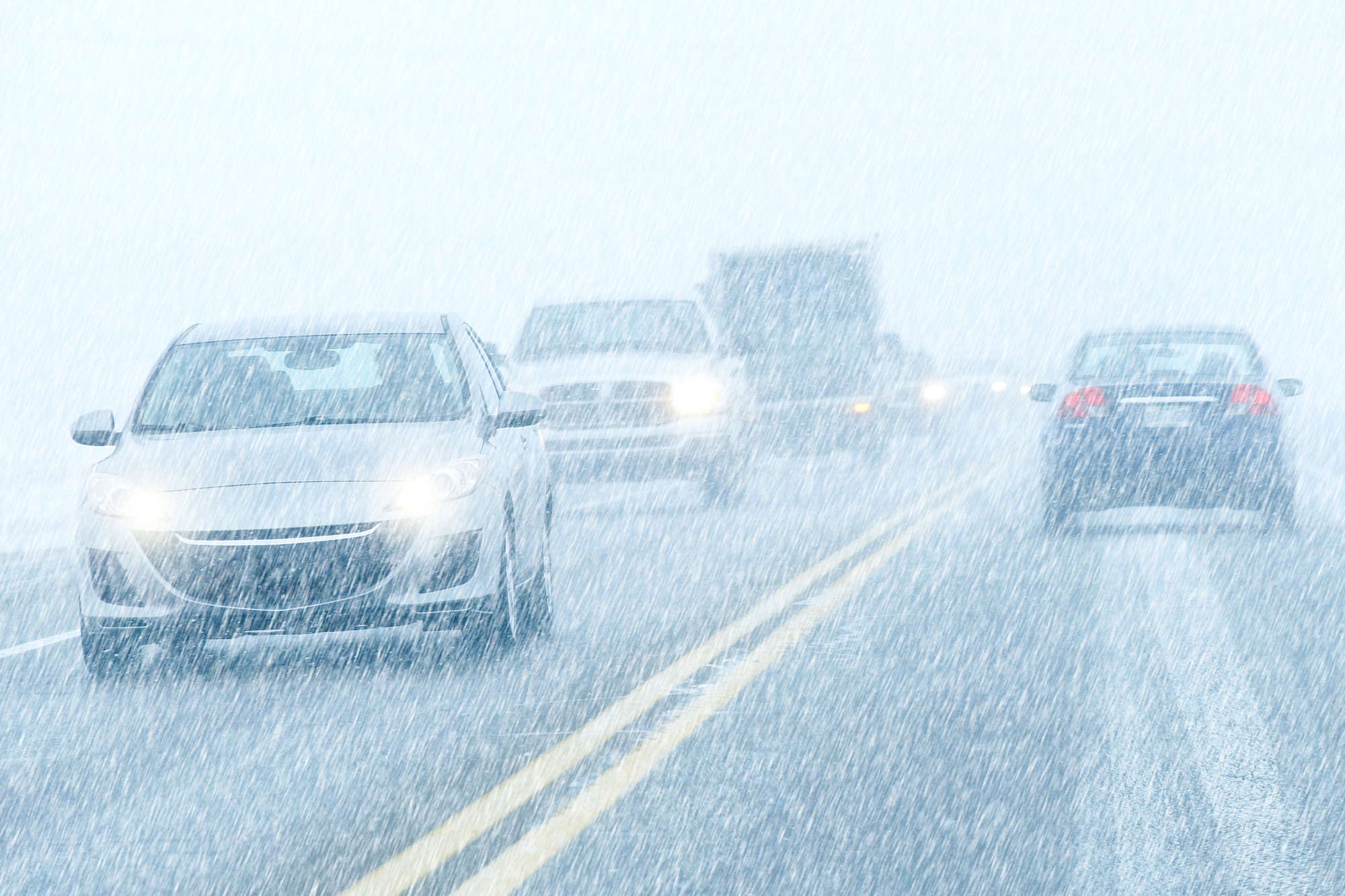 Driving During Severe Snow