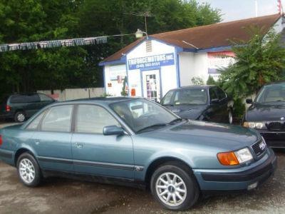 Buy 1992 Audi 100 Cs Quattro115 511 Sedan Light Blue Gray