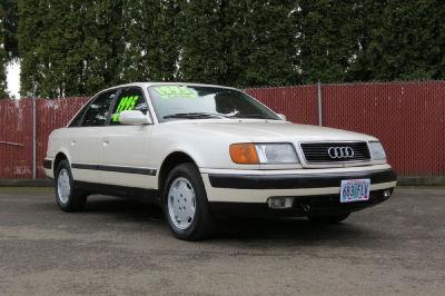 Buy 1992 Audi 100 Cs213 542 Sedan White 23743