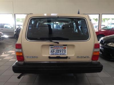 Buy 1989 Volvo 240 DL116,720,Wagon,Beige,TAN,1289,YV1AX8852K1821459,Gasoline,2.3L 4CYL ...