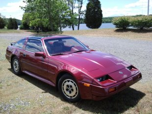 buy 1986 nissan 300zx 2 252 373 coupe maroon maroon jn1hz16s4gx083959 gasoline 6 cylinders. Black Bedroom Furniture Sets. Home Design Ideas