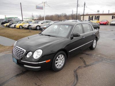 Buy 2009 kia amanti59 581 sedan black gray leather 0000 for Kia motors passkey 0000