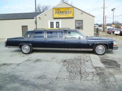 Buy 1989 cadillac brougham base40 489 sedan black tan for Parkway motors inc springfield il