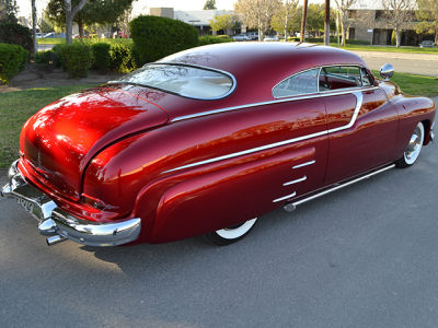 Buy 1950 Mercury Monterey600 Coupe Candy Apple Red White