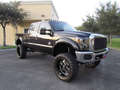 Buy 2011 Ford F250 Xlt14 860 Crew Cab Pickup Black Gray