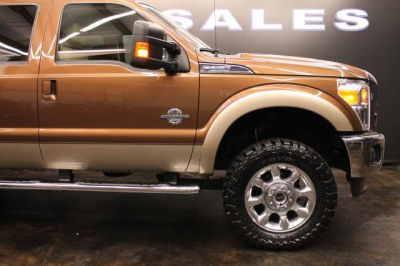 Buy 2011 Ford F250 Lariat43 000 Crew Cab Pickup Bronze Tan