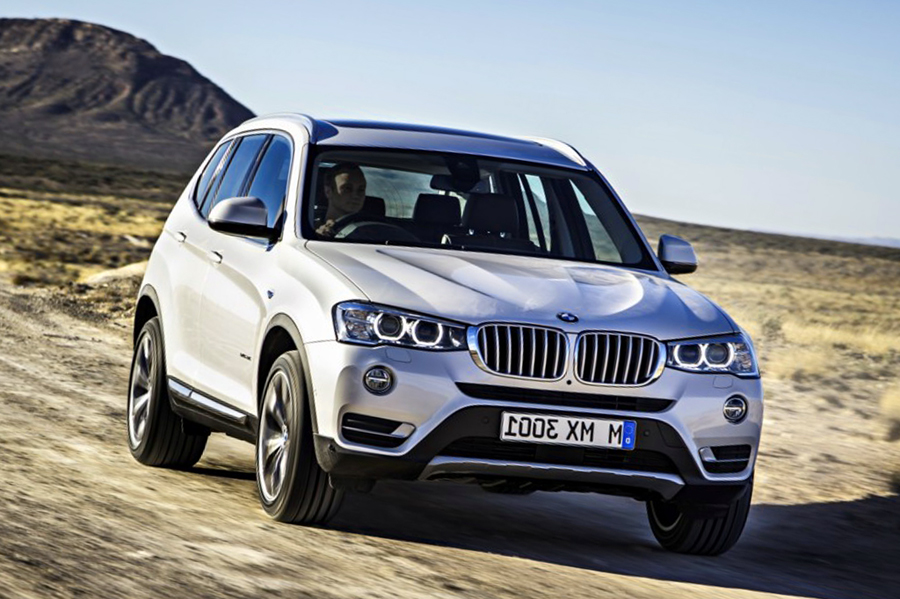 the 2015 bmw x3 gets updates. Black Bedroom Furniture Sets. Home Design Ideas