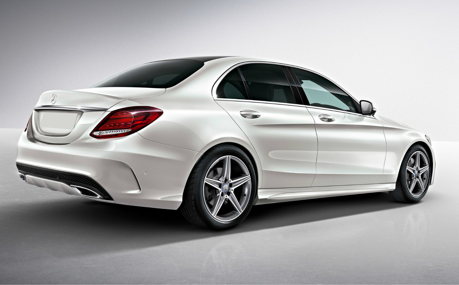 The 2015 mercedes c class will get the amg pack for Mercedes benz 300 amg