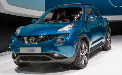 The redesigned Nissan Juke