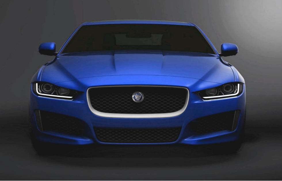 The Jaguar XE appears in the US