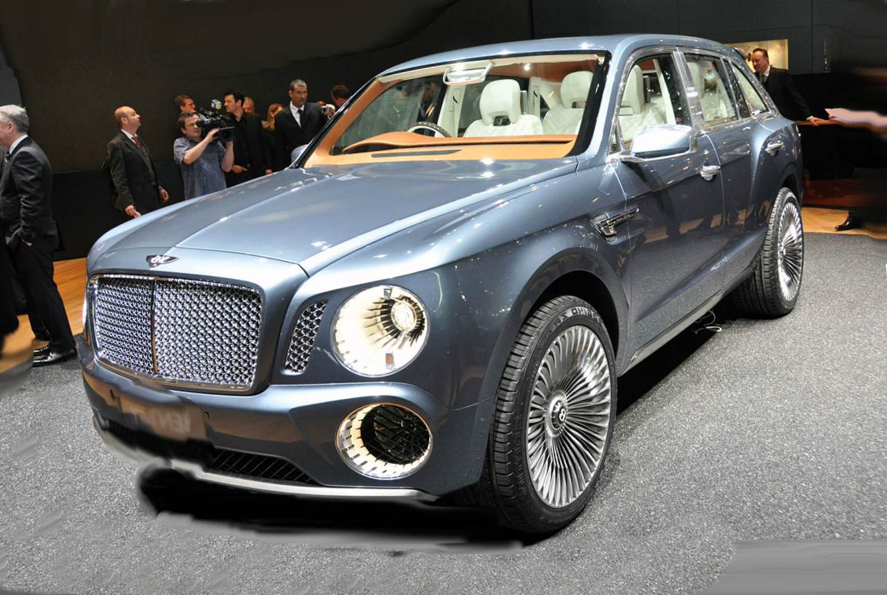 bentley is preparing to introduce its suv. Black Bedroom Furniture Sets. Home Design Ideas