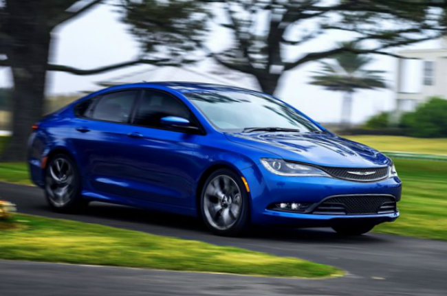 Chrysler introduced its new 200 model this week in Detroit