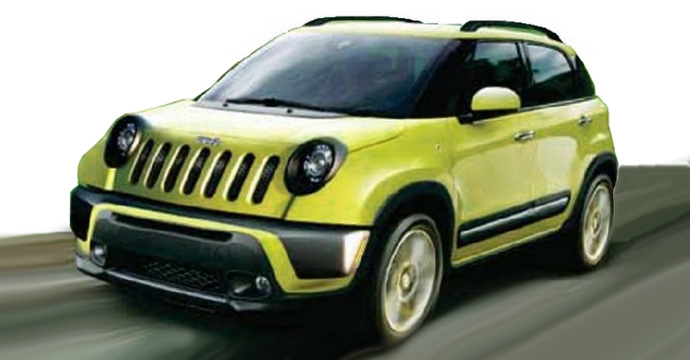 The first glance at the new Jeep Jeepster