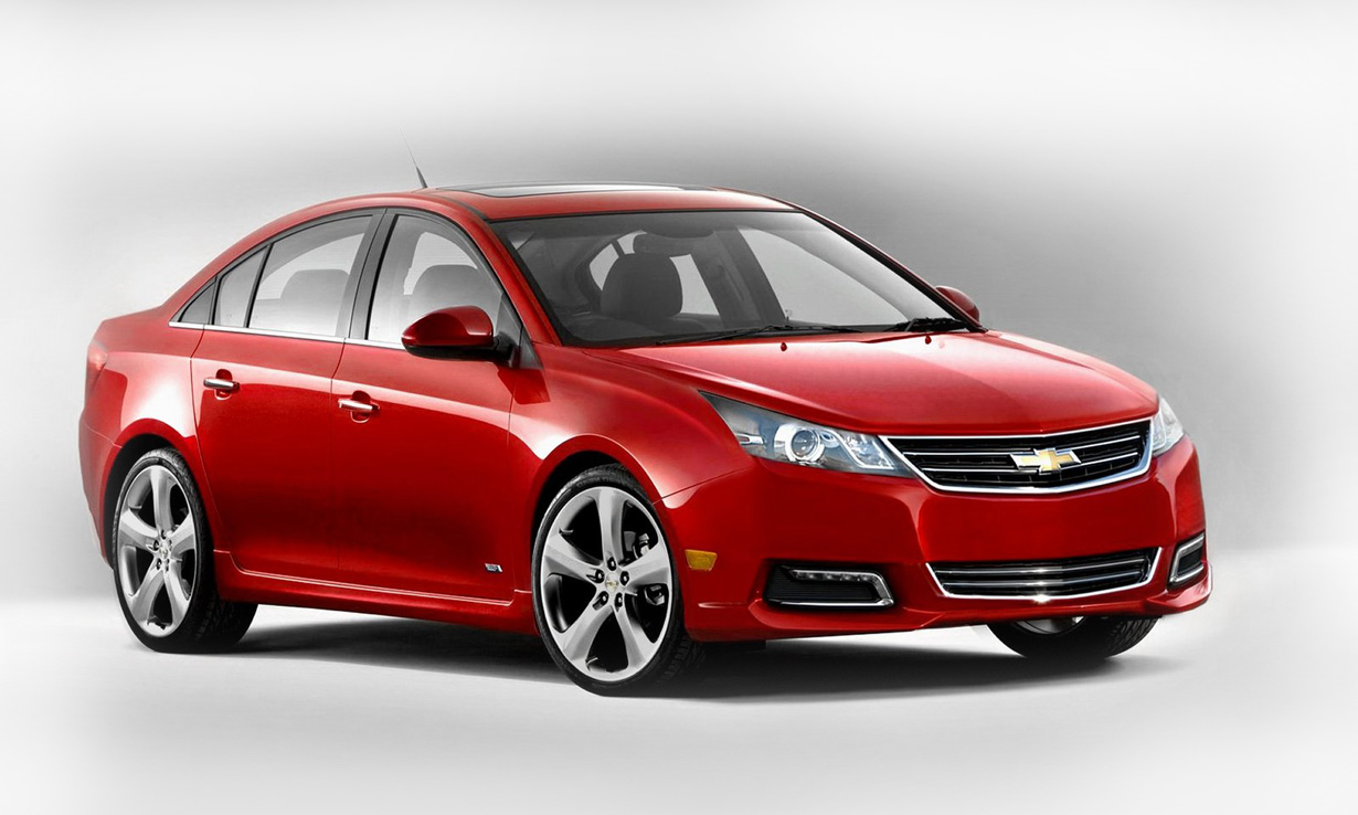 chevrolet is ready to show its new cruze. Black Bedroom Furniture Sets. Home Design Ideas