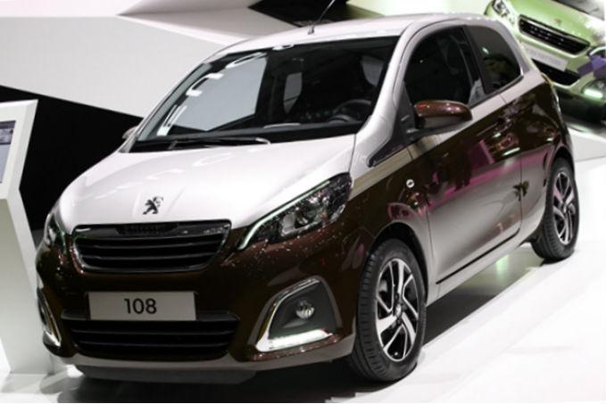 Geneva car show - Peugeot 108