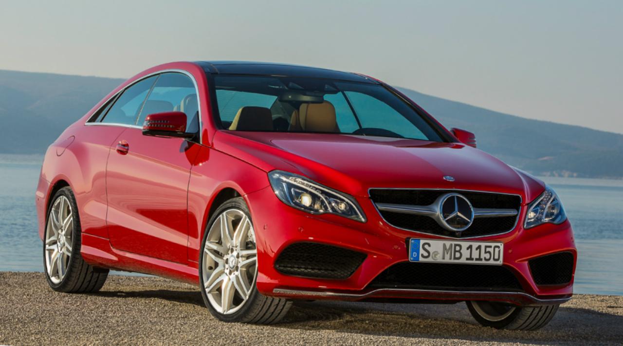 Mercedes E-Class Coupe next gen