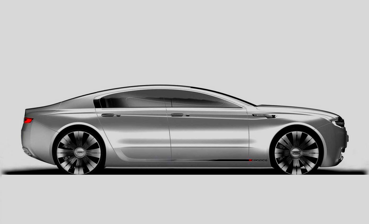 Qoros 9 Sedan Concept 2014