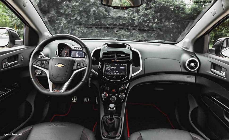 2014 Chevrolet Sonic RS sedan