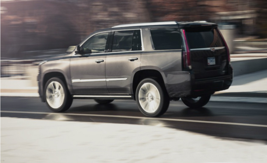 Cadillac Escalade with 8-Speed