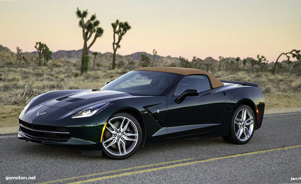 Chevrolet Corvette Stingray Eight-Speed Automatic 2015