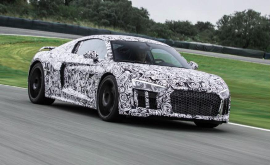 2016 Audi R8 prototype