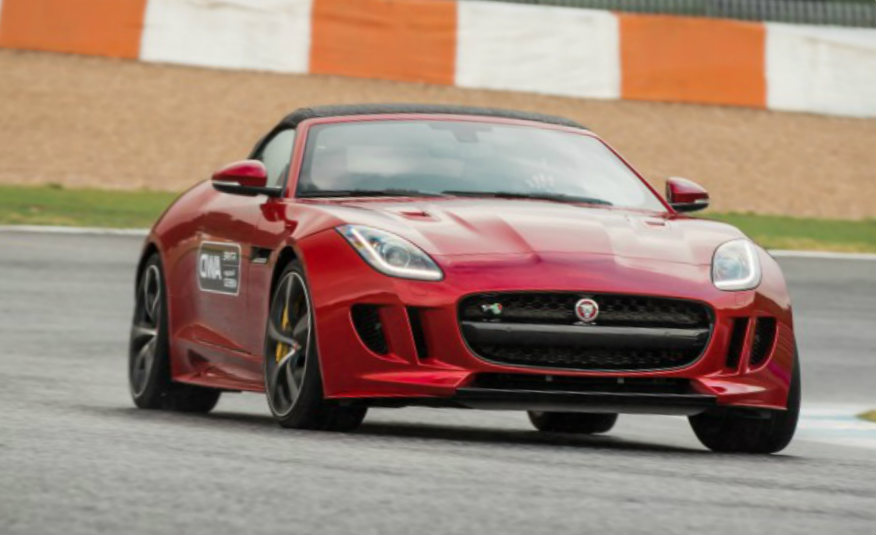 2016 Jaguar F-type R roadster AWD