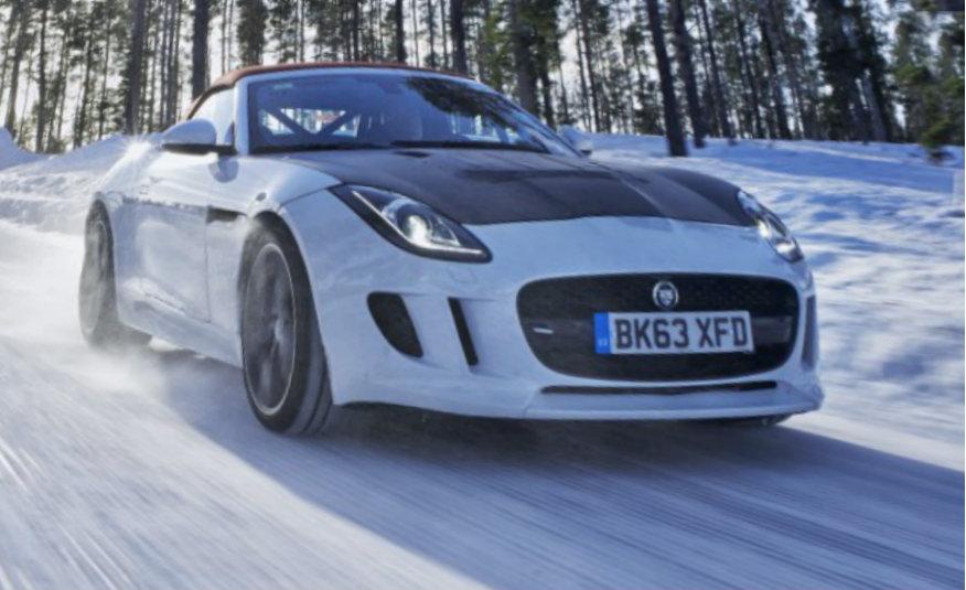 2016 Jaguar F-type roadster AWD