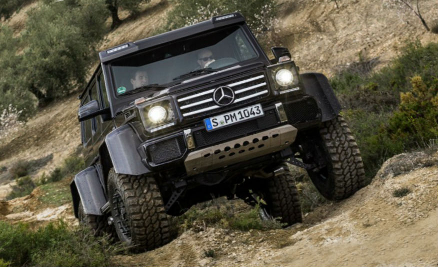 Mercedes-Benz G500 prototype 2015