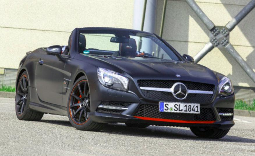 2016 Mercedes-Benz SL550
