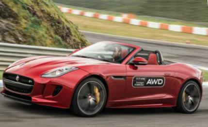 2016 Jaguar F-type R roadster AWD