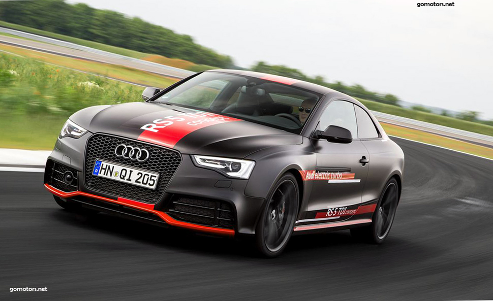 Audi RS5 TDI concept 2017