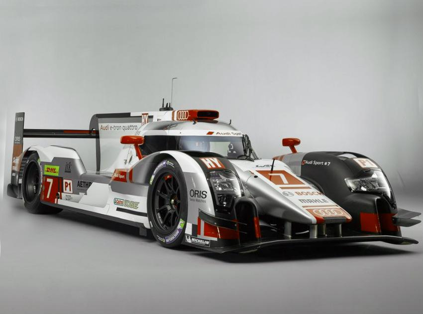 Audi R18 e-tron quattro Racecar