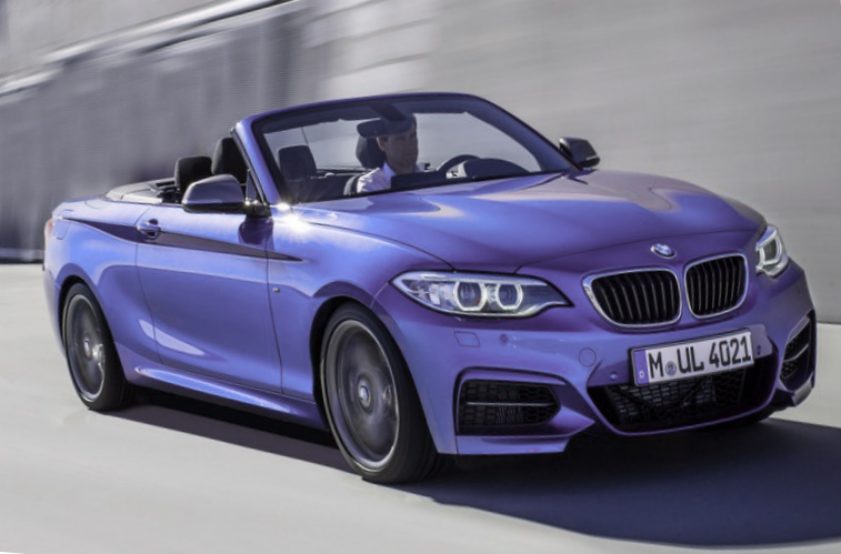 BMW M235i Convertible 2015