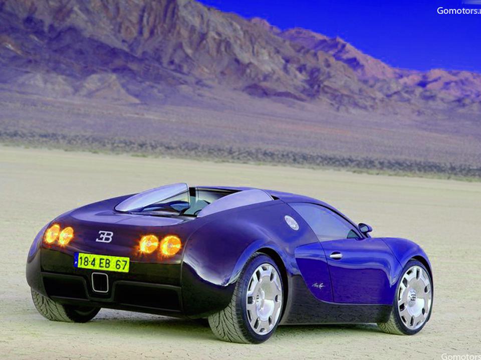 Bugatti EB 18-4 Veyron Concept 1999