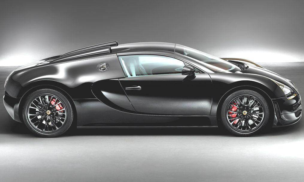Bugatti Veyron Black Bess 2014