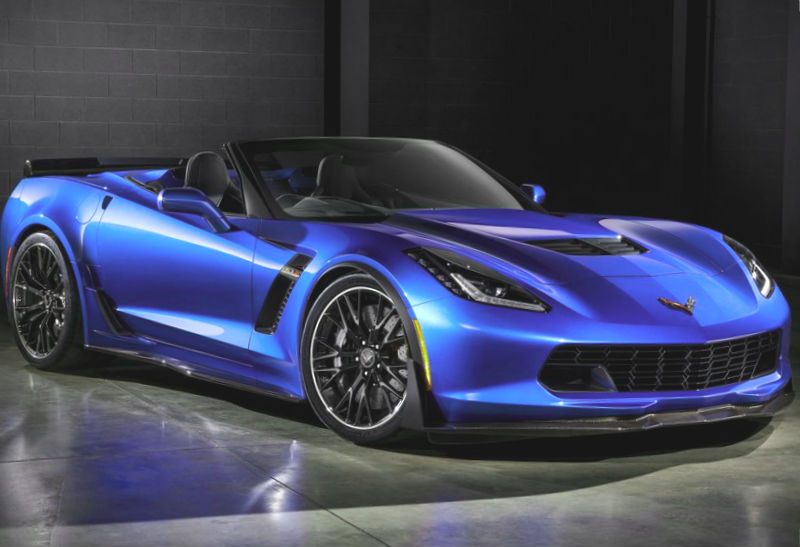 Chevy Corvette Z06 Convertible 2015