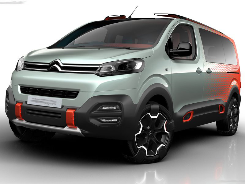 Citroen SpaceTourer Hyphen Concept Wallpapers