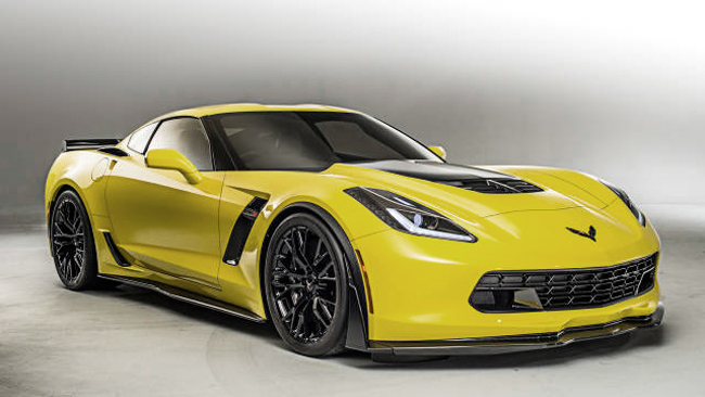 5 things about 2015 Chevrolet Corvette Z06