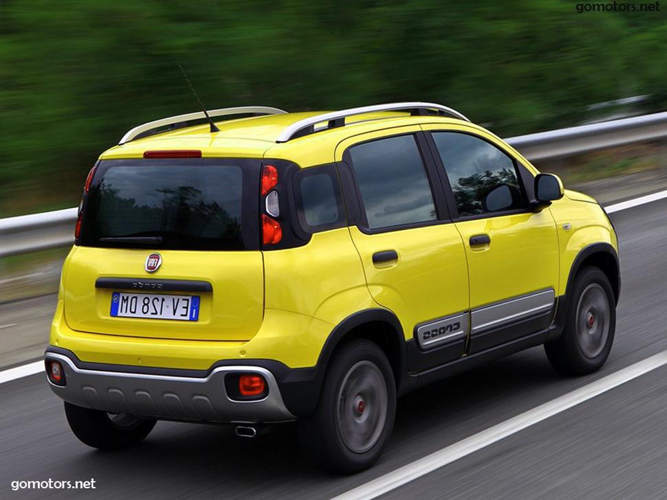 Fiat Panda Cross 2015