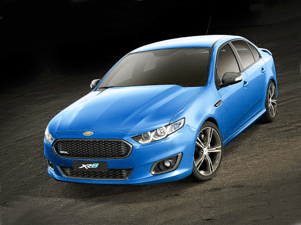 Ford Falcon XR8 2014