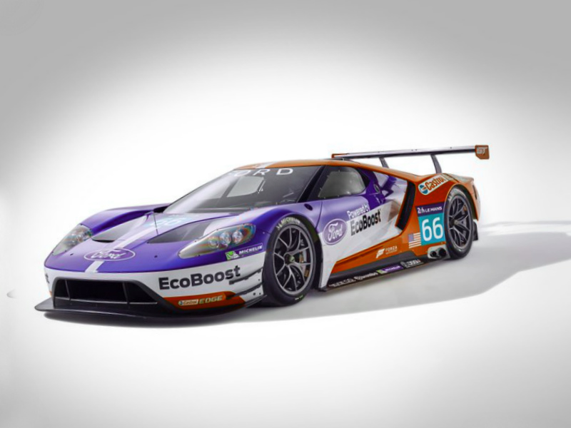 2016 Ford GT Le Mans Racecar