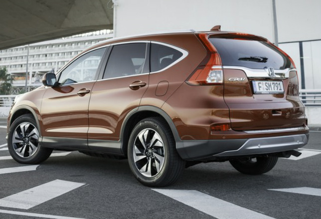 2015 Honda CR-V EU-Version