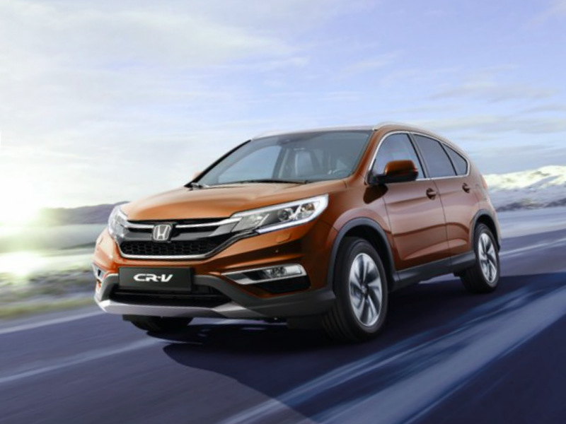 2015 Honda CR-V EU-Version