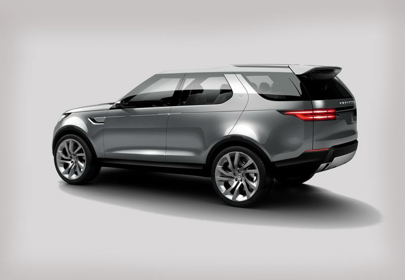 Land Rover Discovery Vision Concept 2014