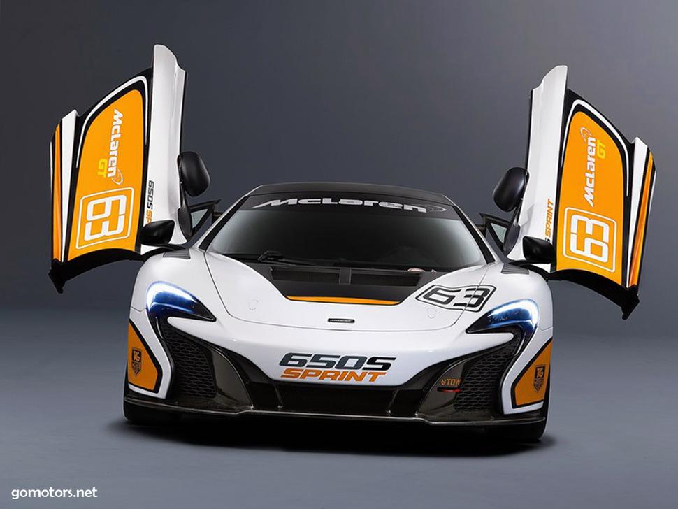 McLaren 650S Sprint 2015
