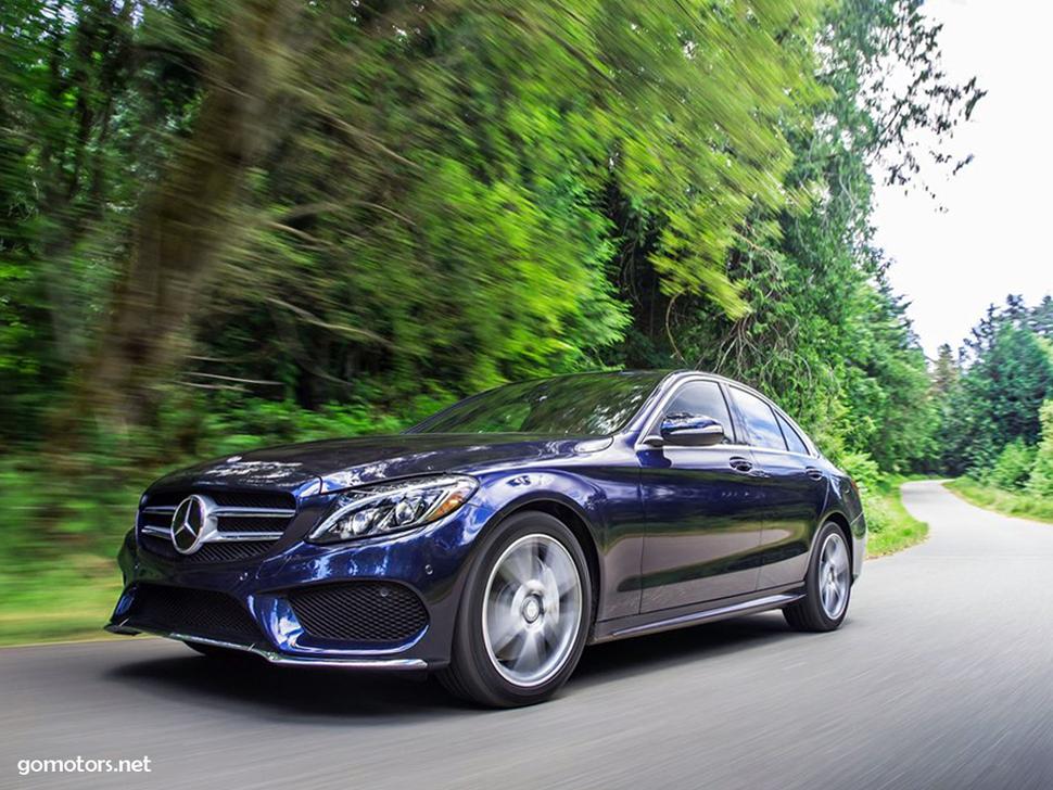 Mercedes-Benz C-Class US-Version 2015