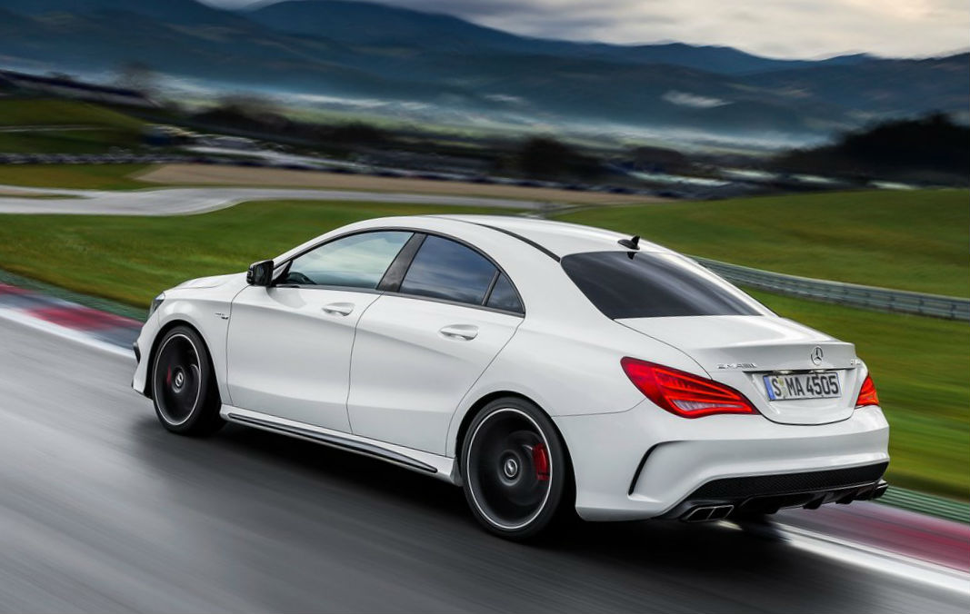 2014 mercedes benz cla45 amg review for Mercedes benz racing parts