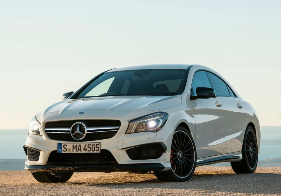 2014 mercedes benz cla45 amg review