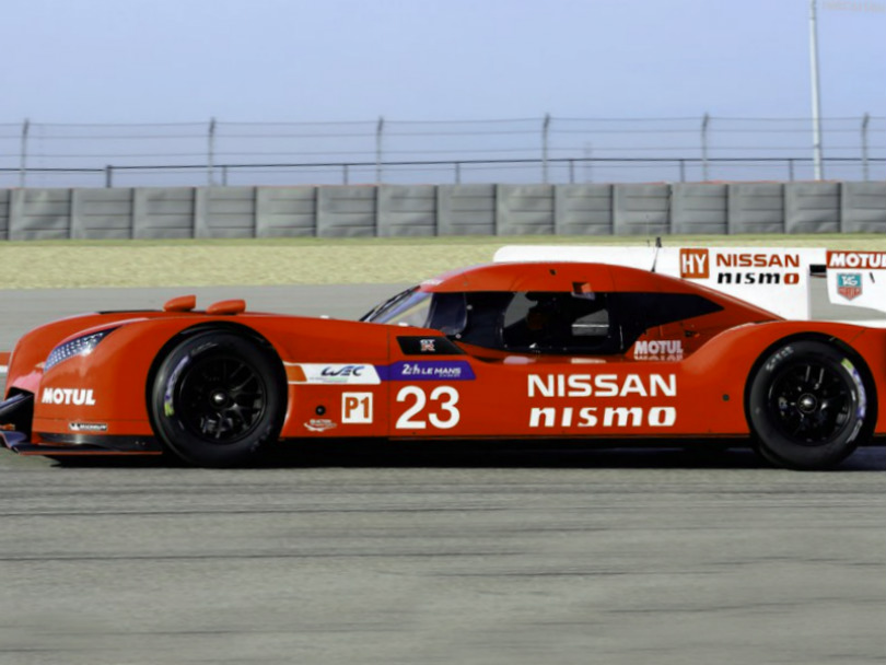 2015 Nissan GT-R LM Nismo Racecar